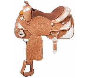 Silver Royal Show Saddle-1