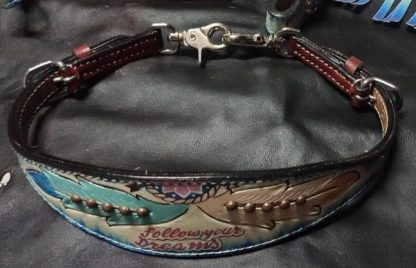 Follow Your Dreams Headstall Breast Collar Fringe Set-17