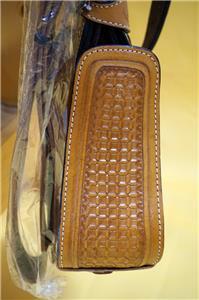15″ 16″ 17″ Roper Saddle Western Fully Tooled Warranty-10