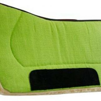 """Contoured 32"""" x 32"""" Horse Saddle Pad with Kodel Fleece by Showman - Choose Color"""