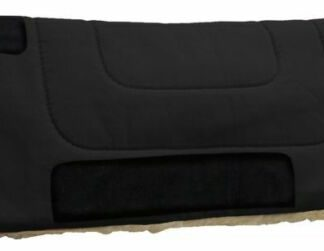"""Heavy Canvas 32"""" x 32"""" Horse Saddle Pad with Kodel Fleece by Showman"""