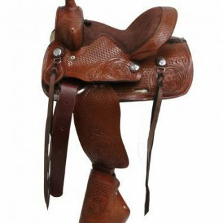 "10"" Western pleasure trail training show Double T pony youth Handmade saddle"