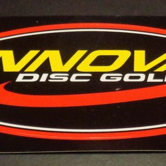 """~New-Disc Golf Innova Sticker. 6"""" x 3"""". Very High Quality"""