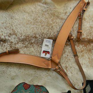 BIG HORN Brand Quality Leather Western Breast Collar U.S. Made