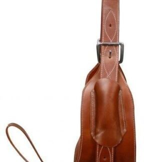 """Showman 7"""" Wide Leather Horse Flank / Back Cinch in MEDIUM OIL! NEW HORSE TACK!"""