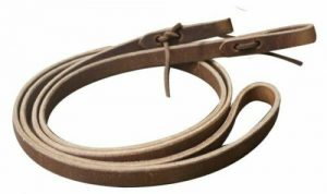 """5/8"""" x 7' Harness Leather Western Roping Reins! MADE IN THE USA! NEW HORSE TACK!"""