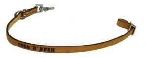 """Showman """"TURN 'N' BURN"""" Branded Western Leather Wither Strap!!! NEW HORSE TACK!!"""