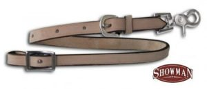 Showman LIGHT OIL Leather Wither Strap w/ Scissor Snap End! NEW HORSE TACK