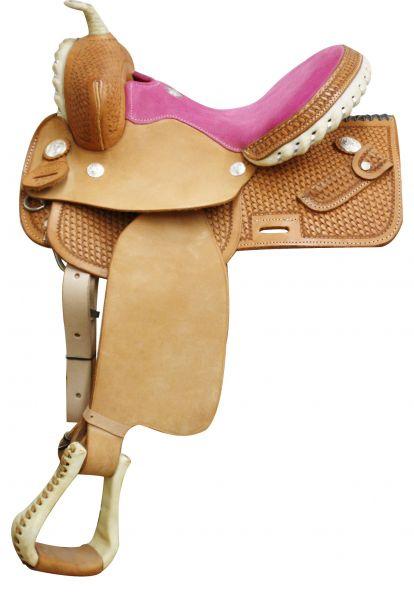 Youth Saddle Square Skirt - Pink